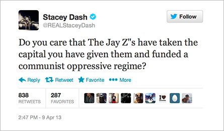 staceydashbeyonceandjayz The Voice Of America FINALLY Speaks Out About The Jay Zs Trip To Cuba