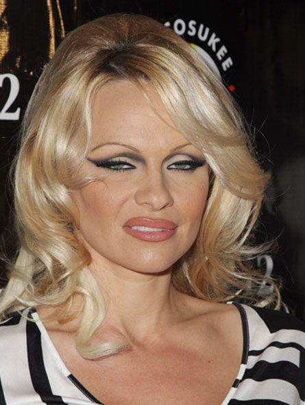 pamela anderson fuck video. Pamela Anderson#39;s make-up